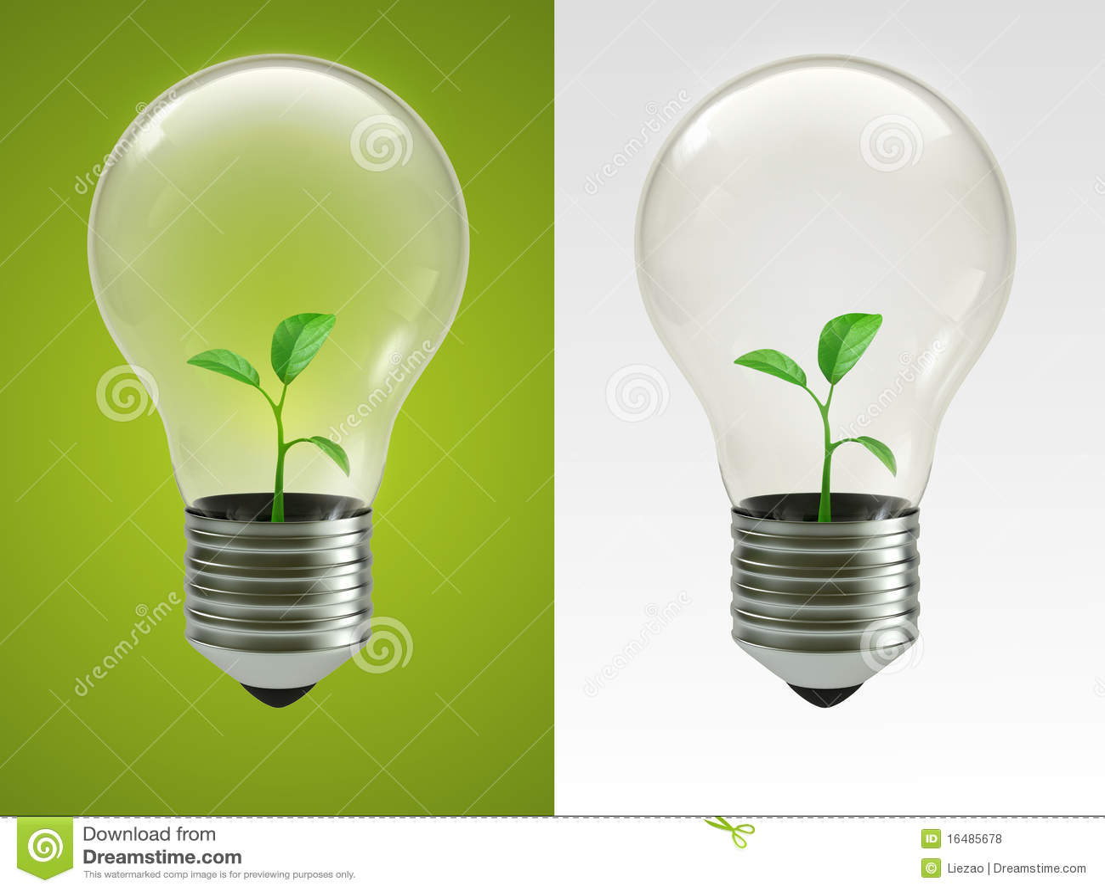 Eco Lamp Royalty Free Stock Photos Image 16485678