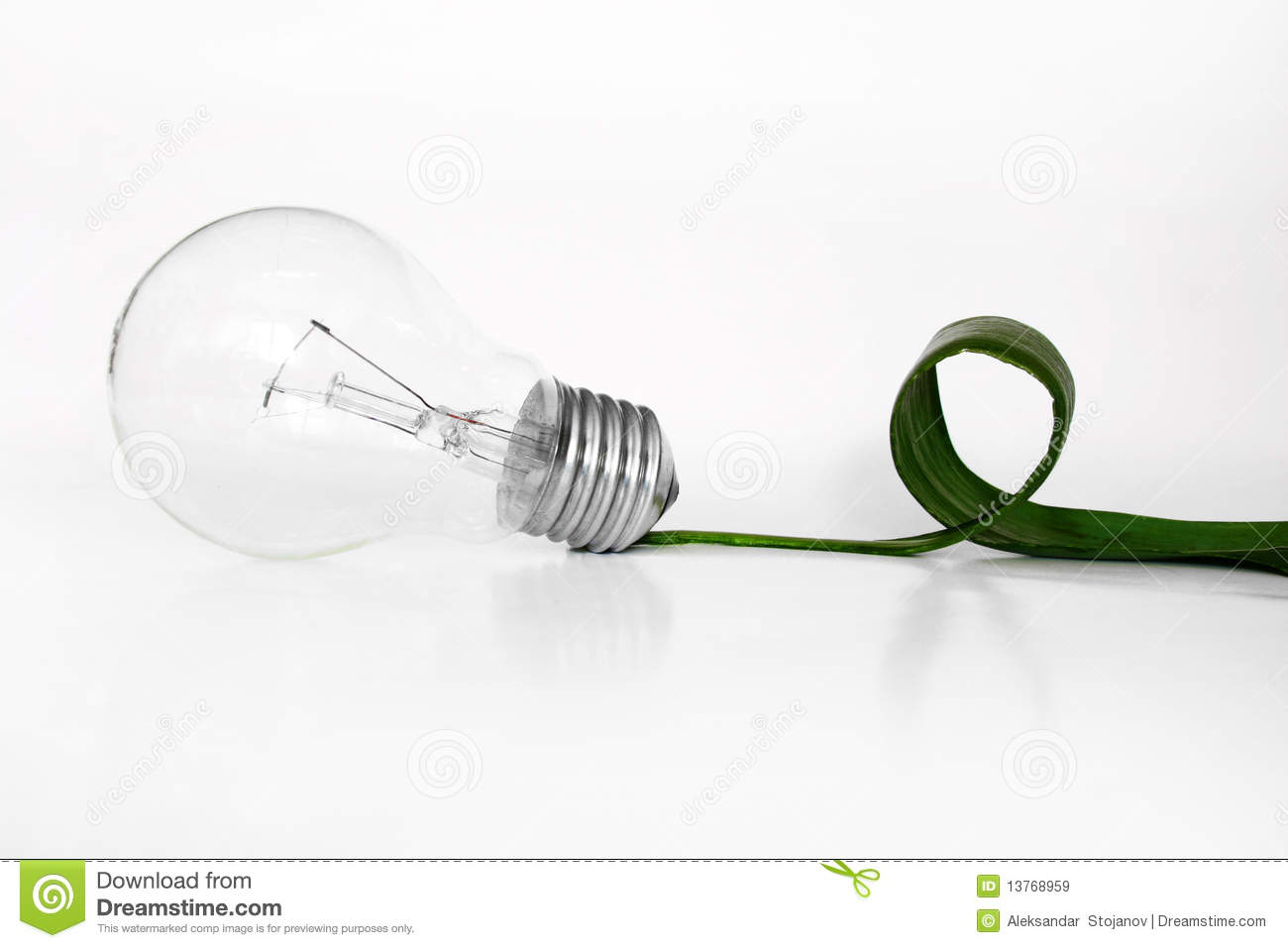 Eco Light Bulb Royalty Free Stock Images Image 13768959