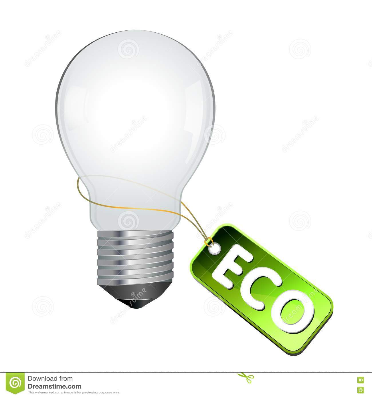 Eco Light Bulb Royalty Free Stock Photography Image 15629797