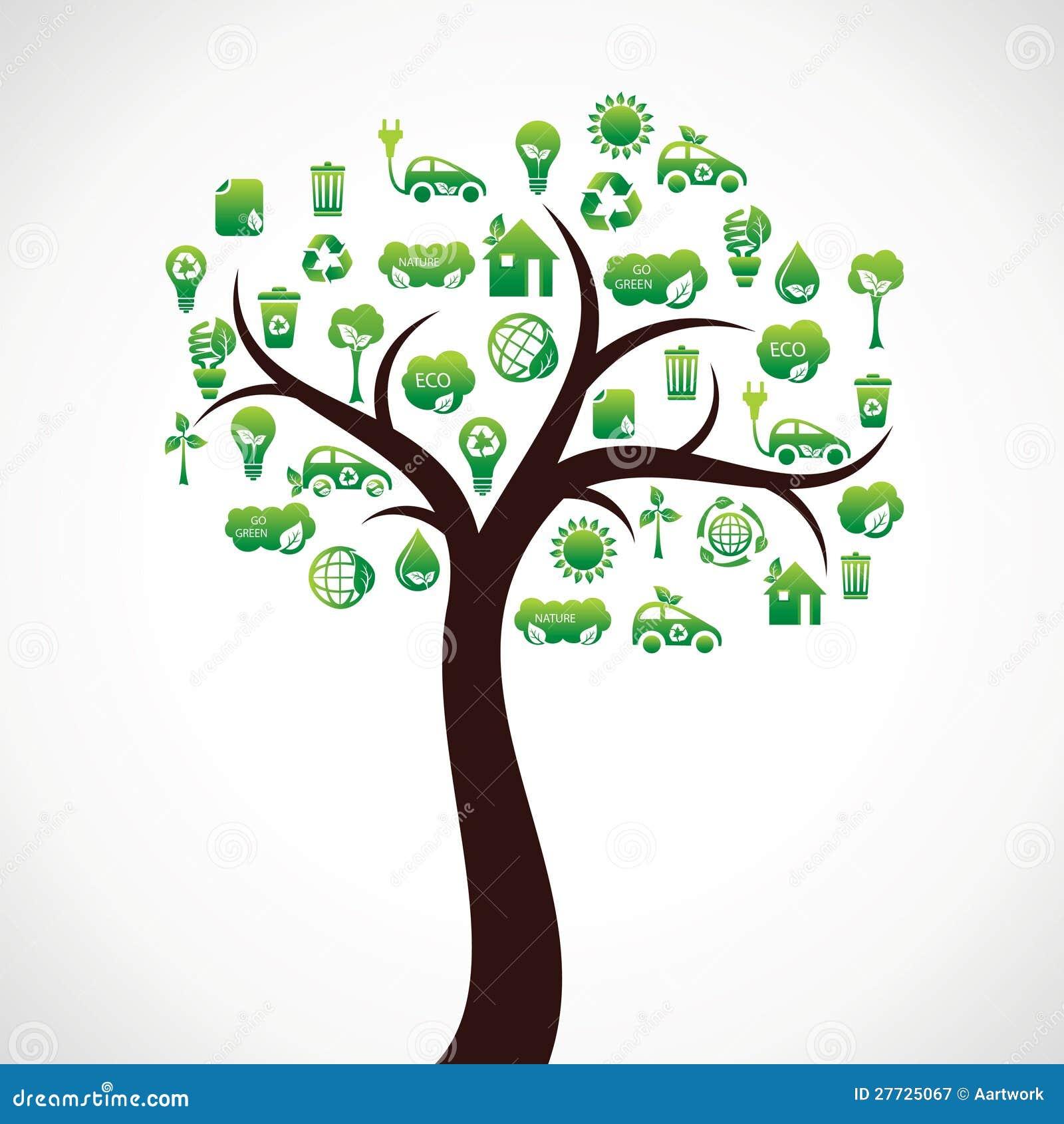 Eco Natur-Ikonenbaum