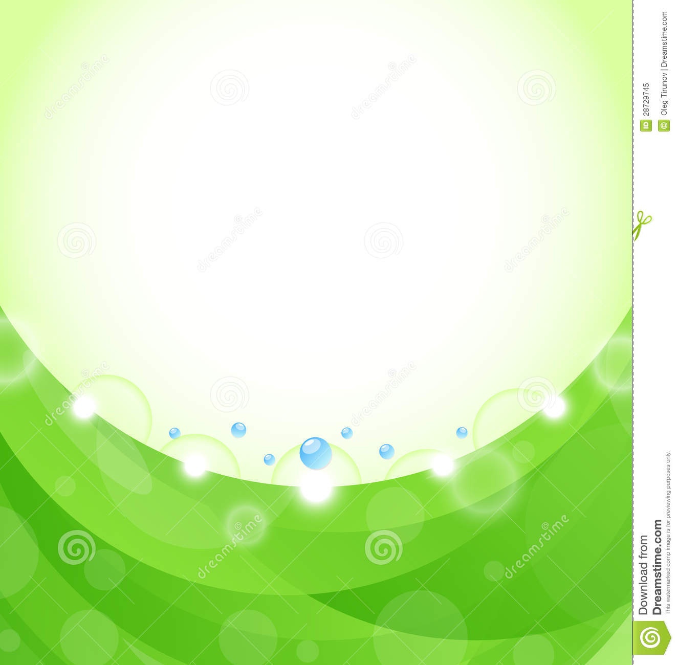 eco nature background, design template stock vector - illustration