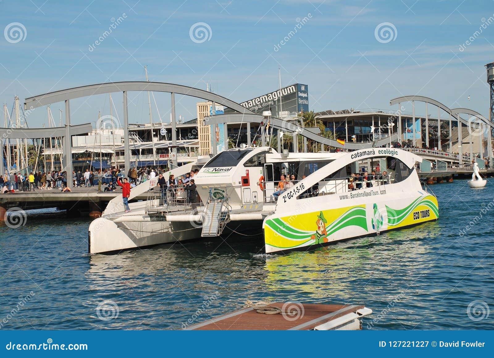 Eco schudnięcia catamaran, Barcelona