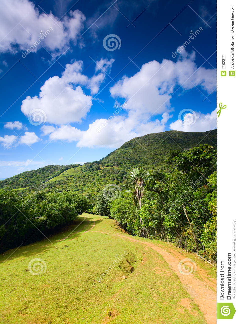 Download Eco-tourism stock image. Image of slope, cloudy, grass - 7702877