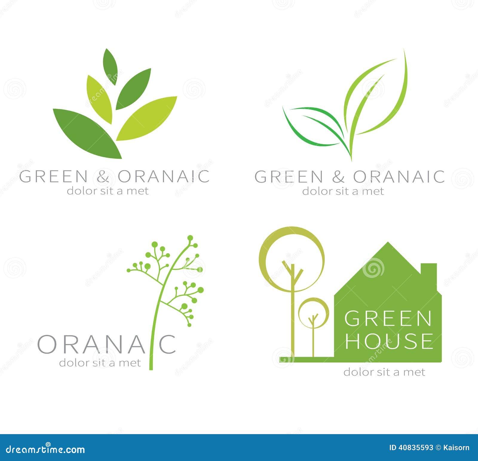 Eco zieleni liść Ekologii zielona ikona