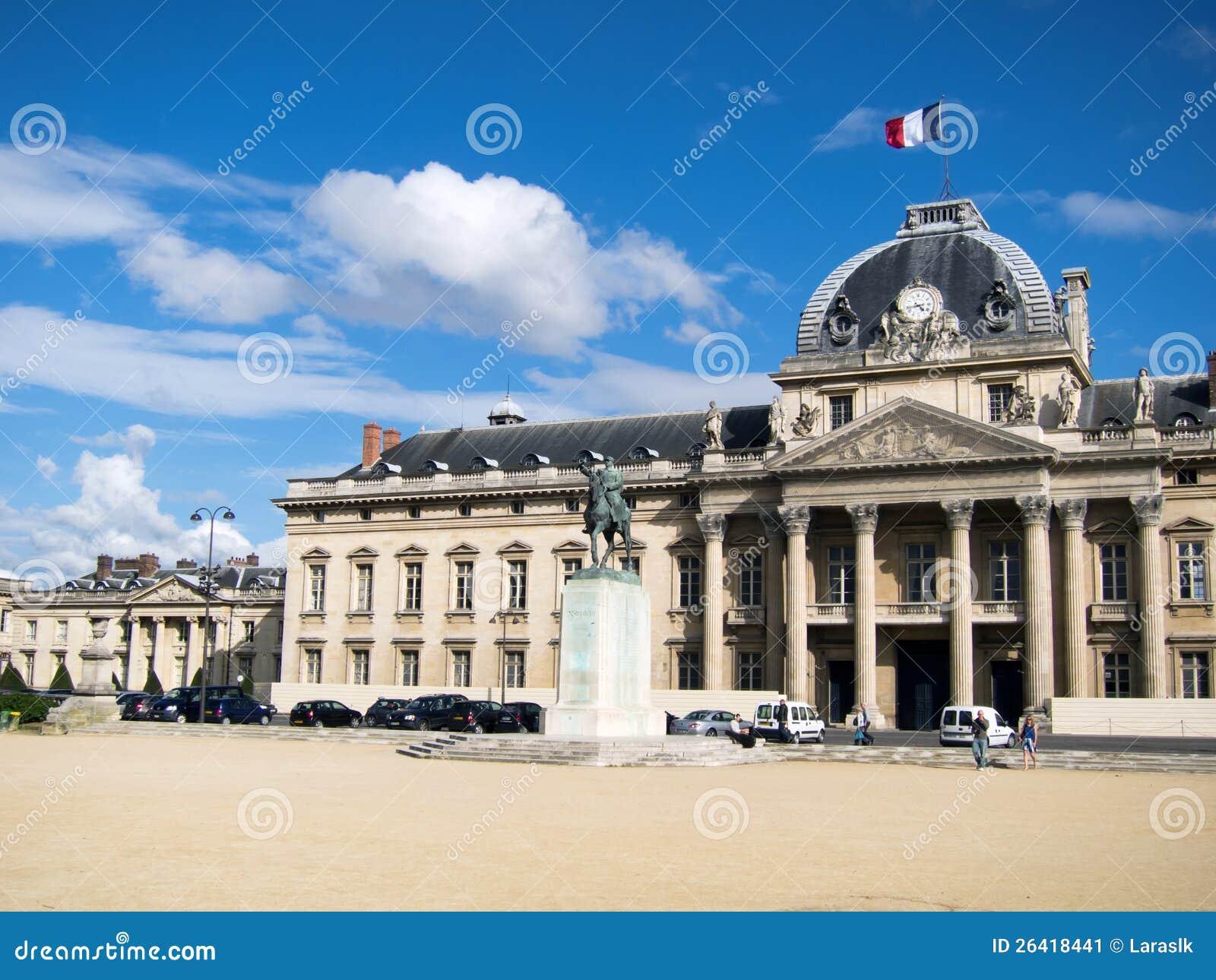 Ecole militaire in paris stock image image 26418441 for Ecole decorateur interieur paris