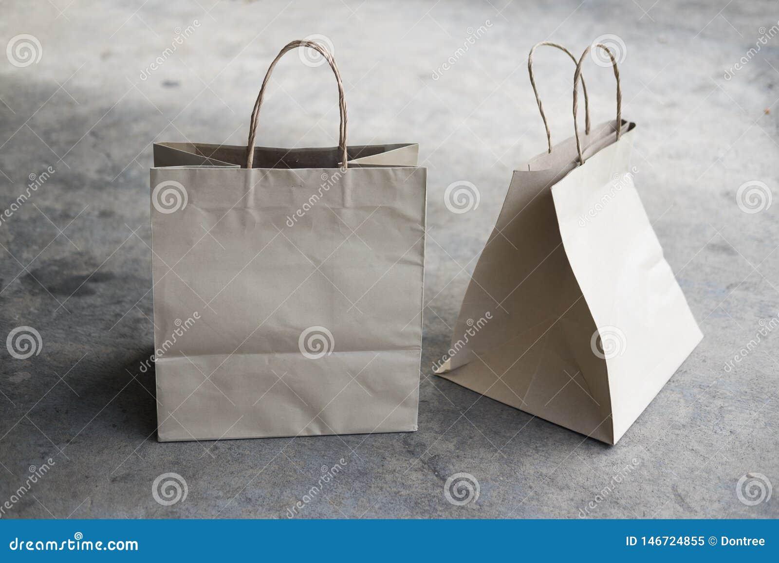 Ecologic påse för Kraft papper