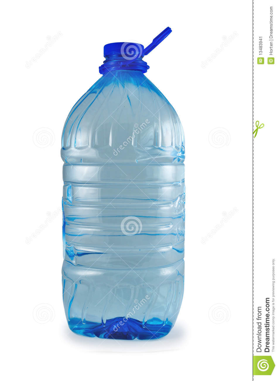Ecological Pure Bottle Of Water Stock Image