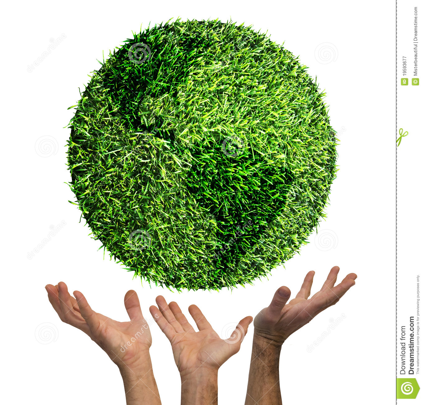 Ecological symbol of earth on american side stock image image royalty free stock photo biocorpaavc