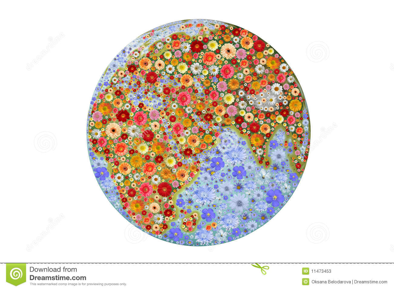 Ecologically Clean Earth Planet Stock Photos - Image: 11473453