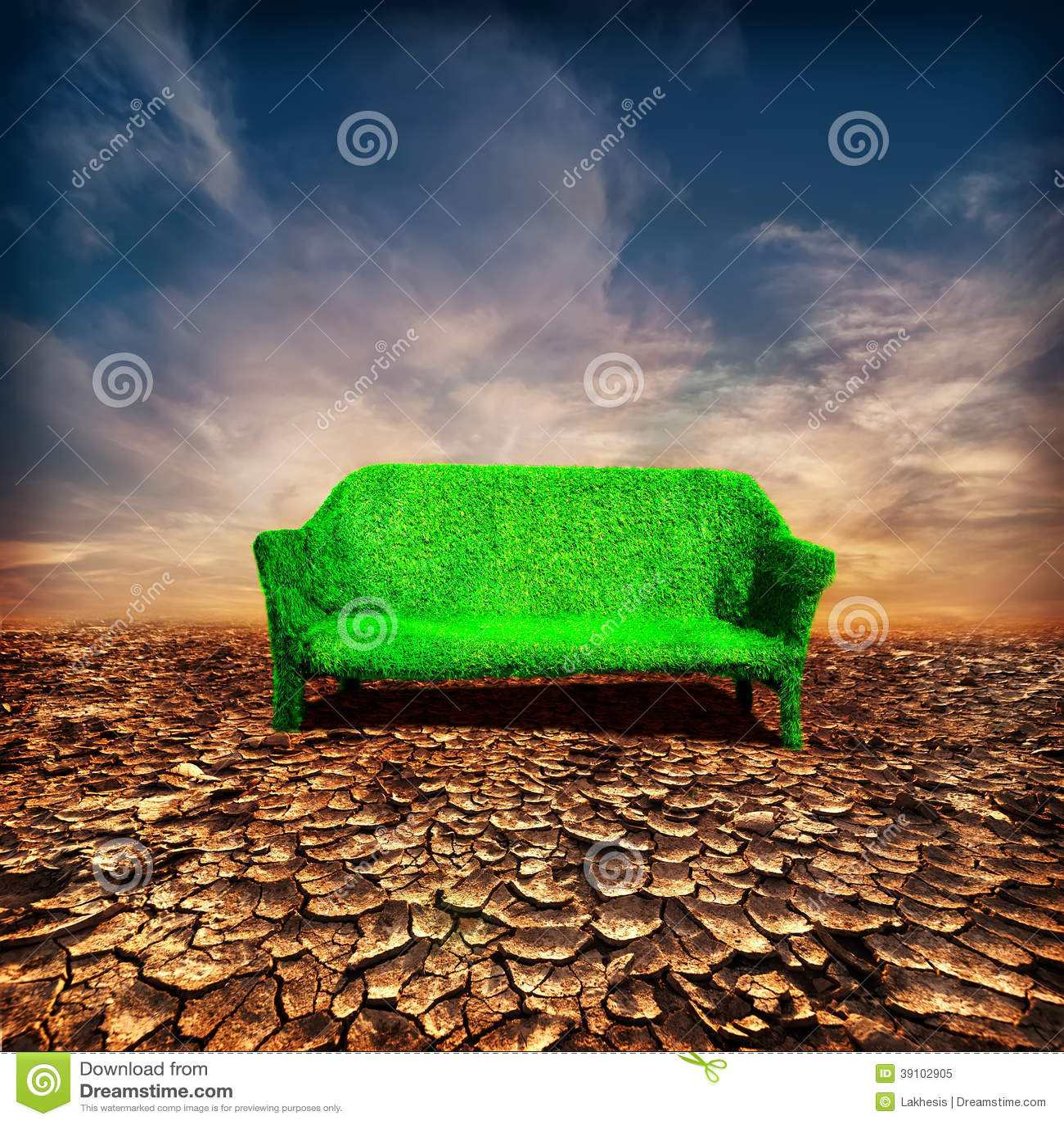 Ecologie en globaal het verwarmen concept