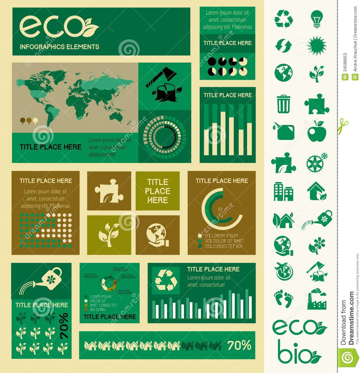 Flat infographic elements opportunity to highlight any country on the