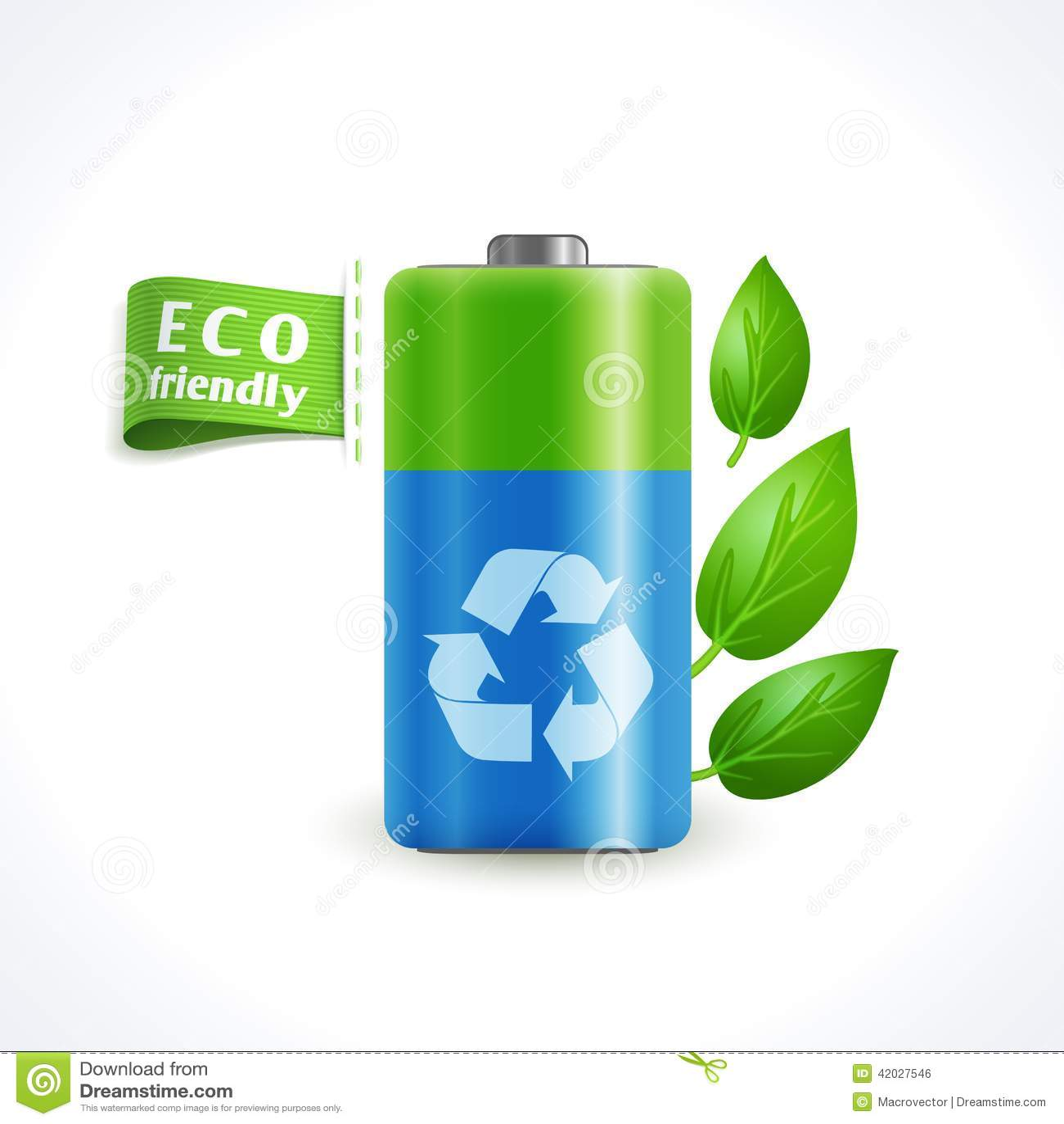 ecology symbol battery stock vector illustration of design 42027546. Black Bedroom Furniture Sets. Home Design Ideas