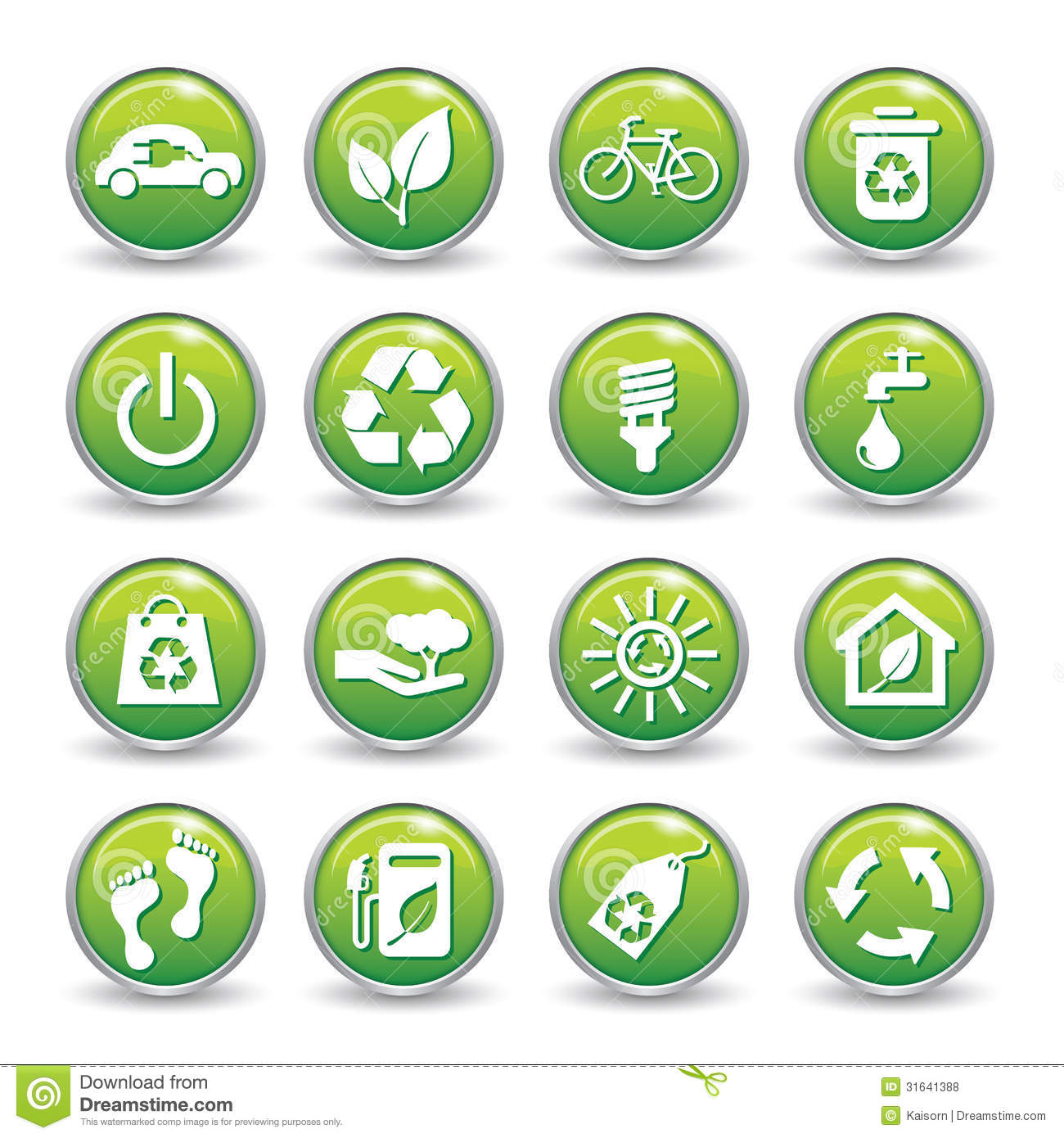 ecology web icons green buttons royalty free stock photos marketing plan icons