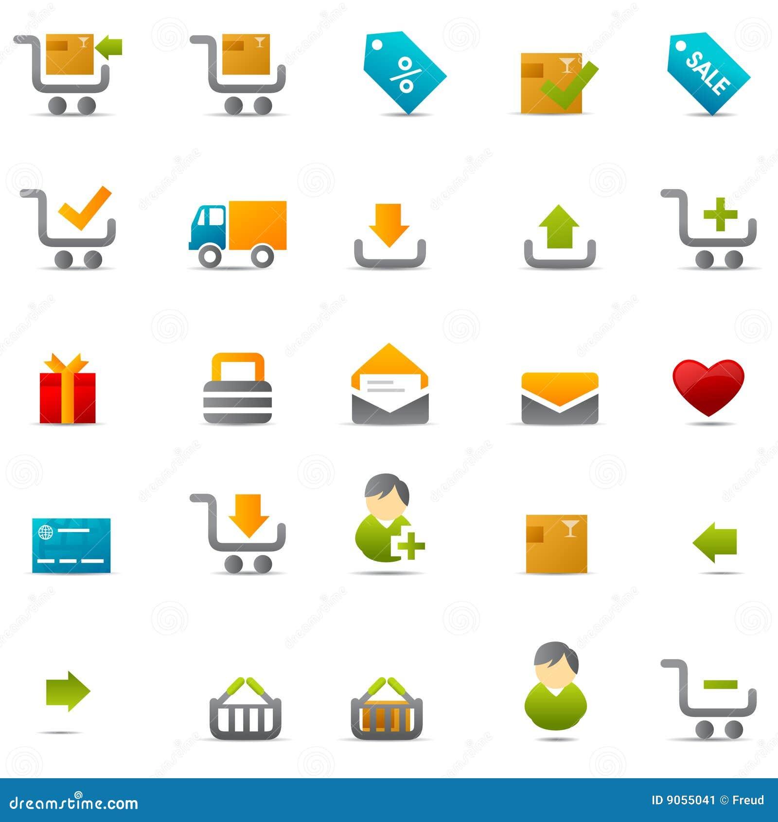 Ecommerce web icon