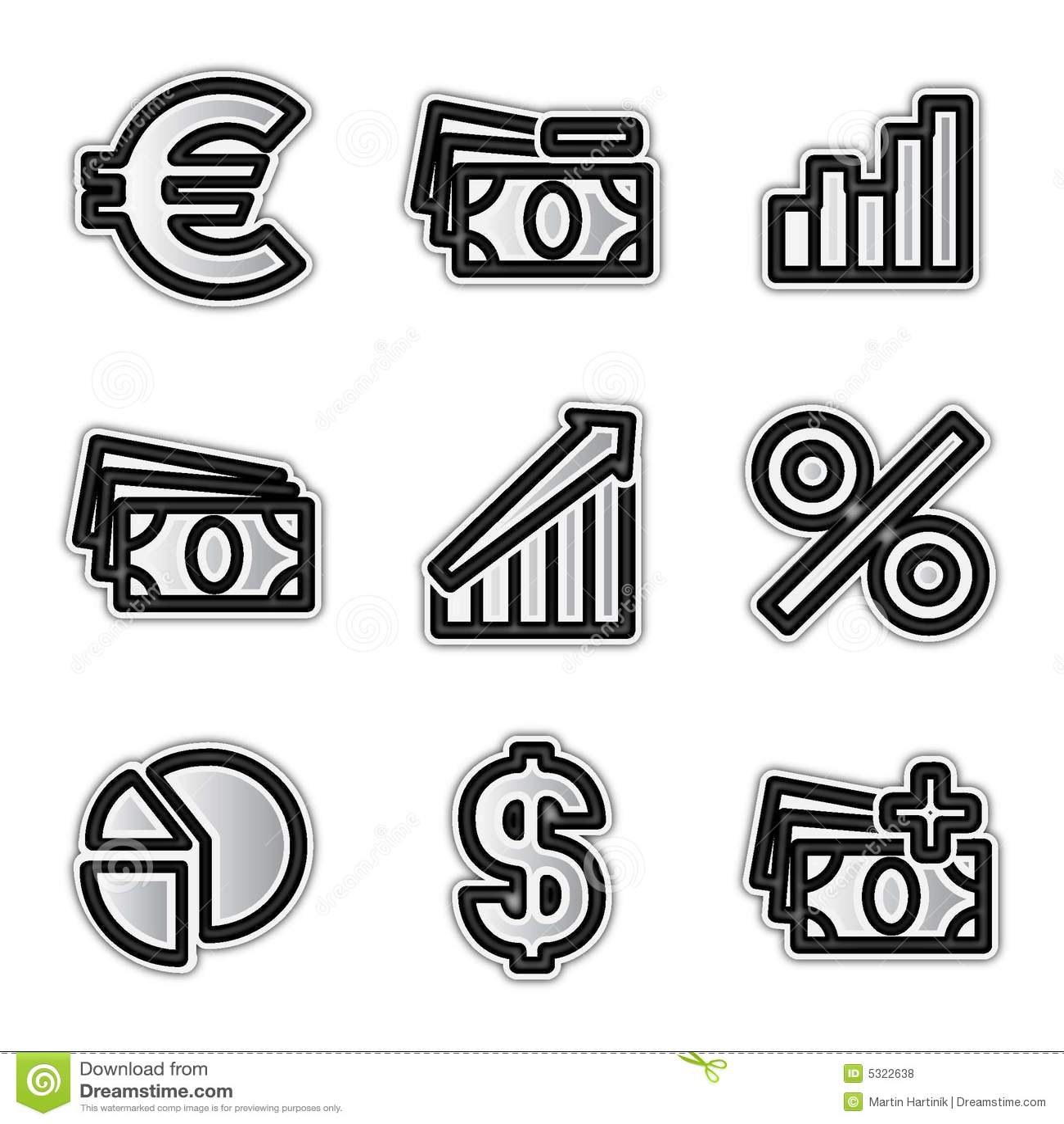 Download Economia Delle Icone Di Web Di Vettore Illustrazione Vettoriale - Illustrazione di euro, percento: 5322638