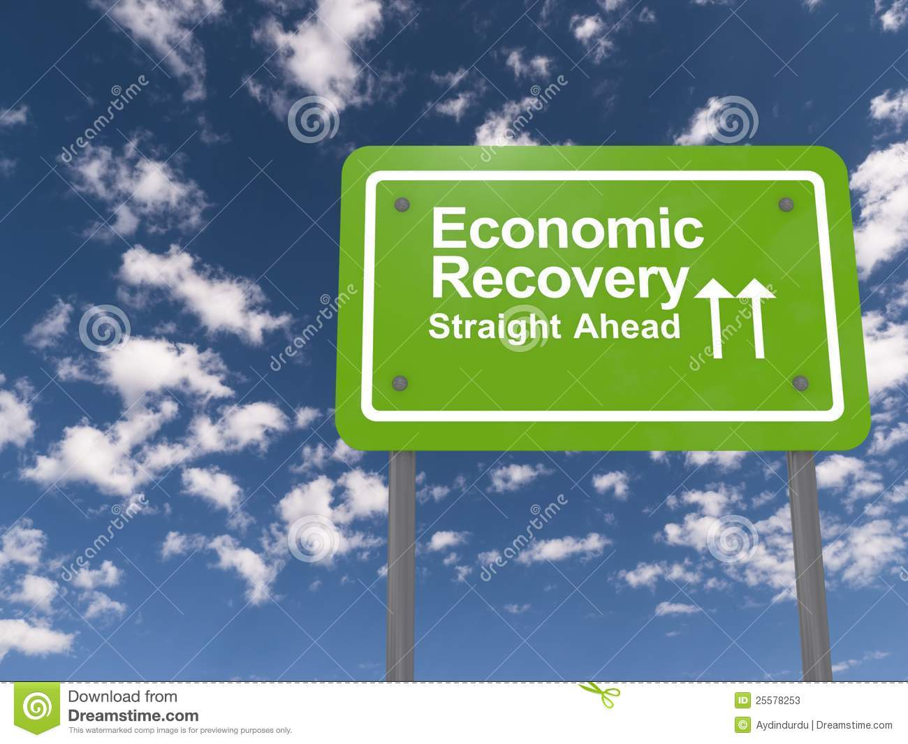 Was the economic recovery of the