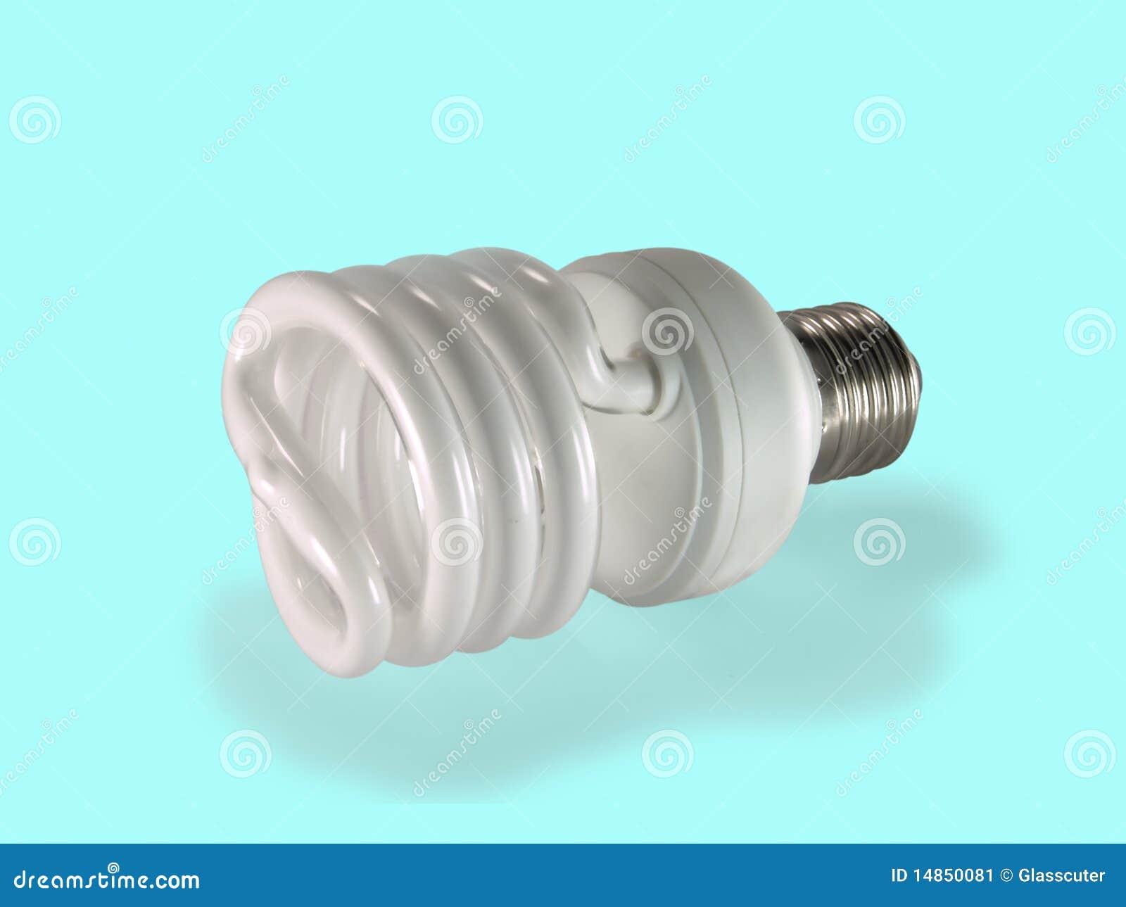 Economical fluorescent lamp.