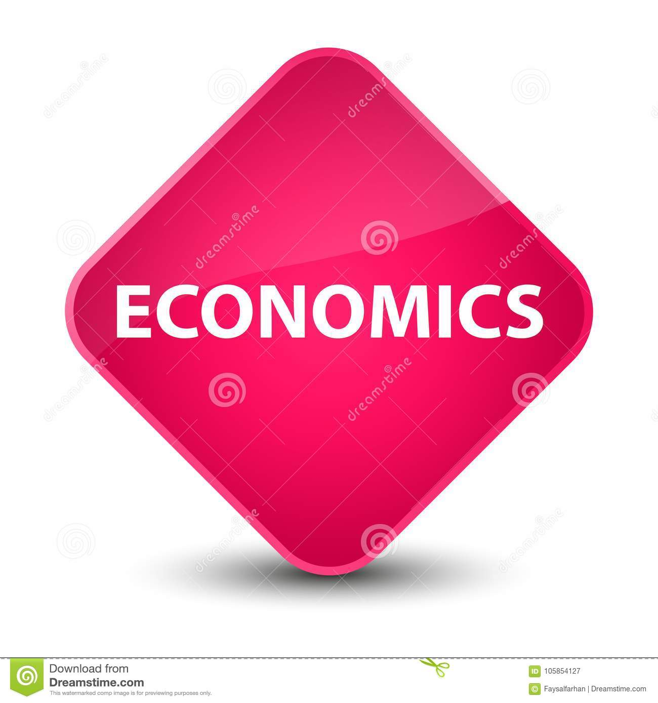 f8b7670c0e22 Economics Elegant Pink Diamond Button Stock Illustration ...