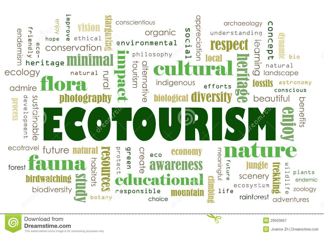 Ecotourism Concept Royalty Free Stock Photography - Image: 29503667