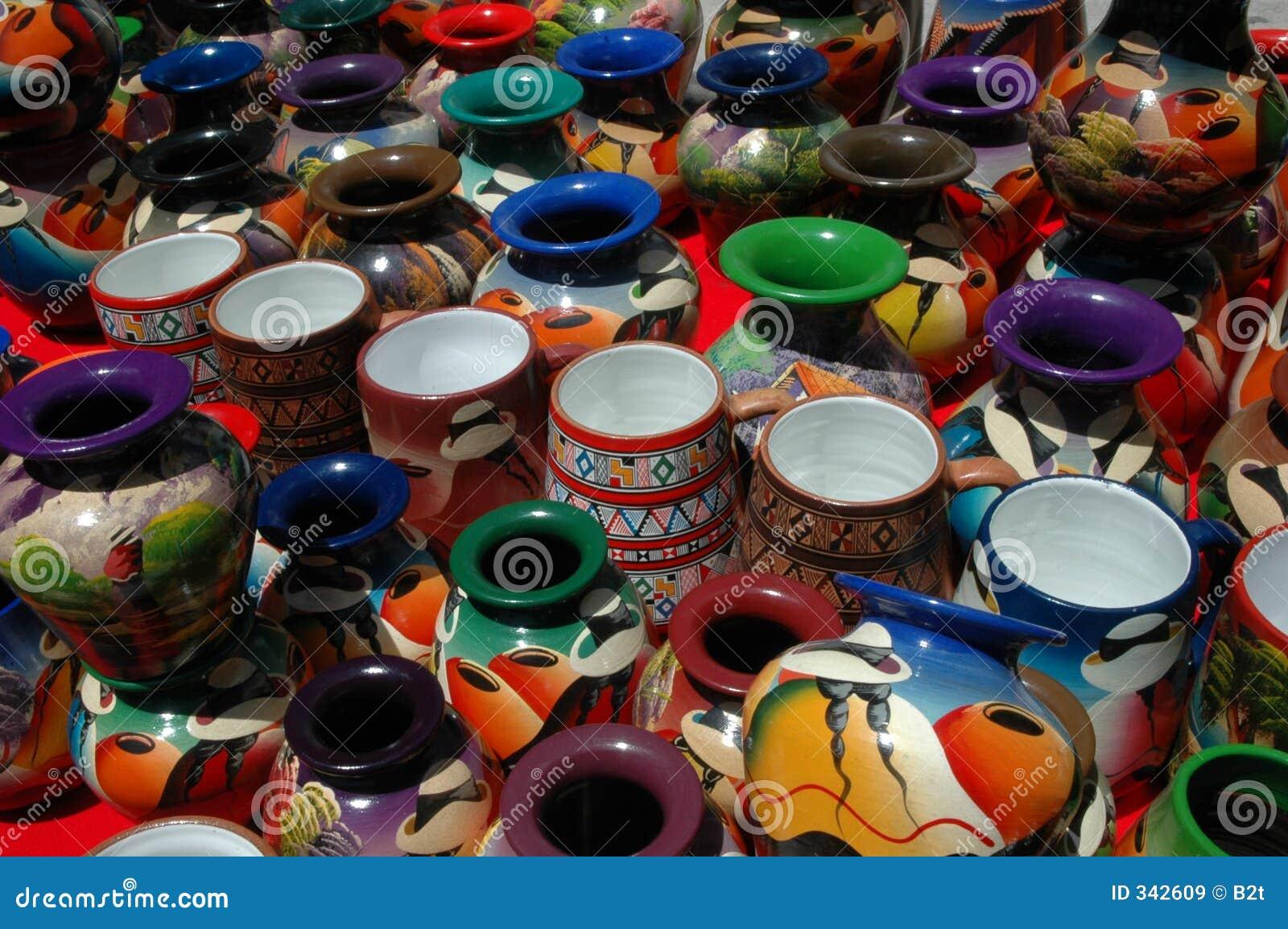 Ecuador Pottery Stock Image Image Of Depot Culture