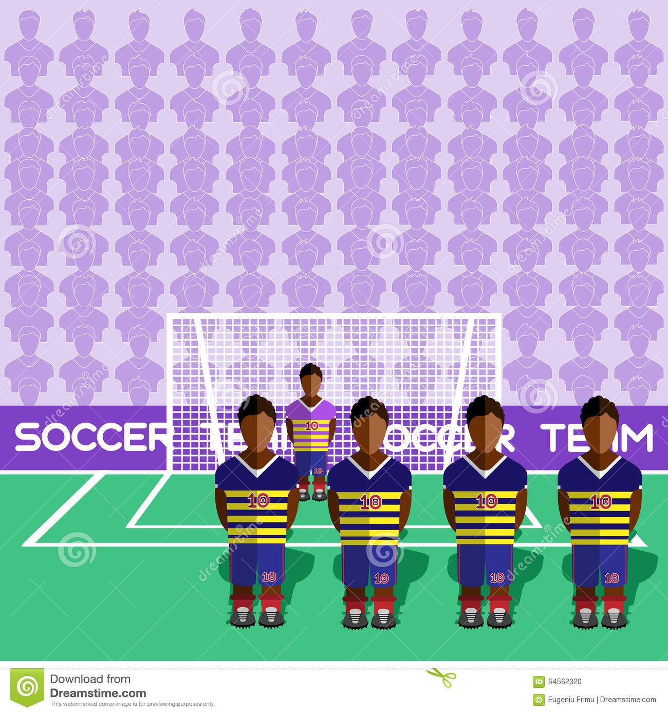 6eedd86060c Ecuador Football Club Soccer Players Silhouettes. Computer game Soccer team  players big set. Sports infographic. Football Teams in Flat Style.