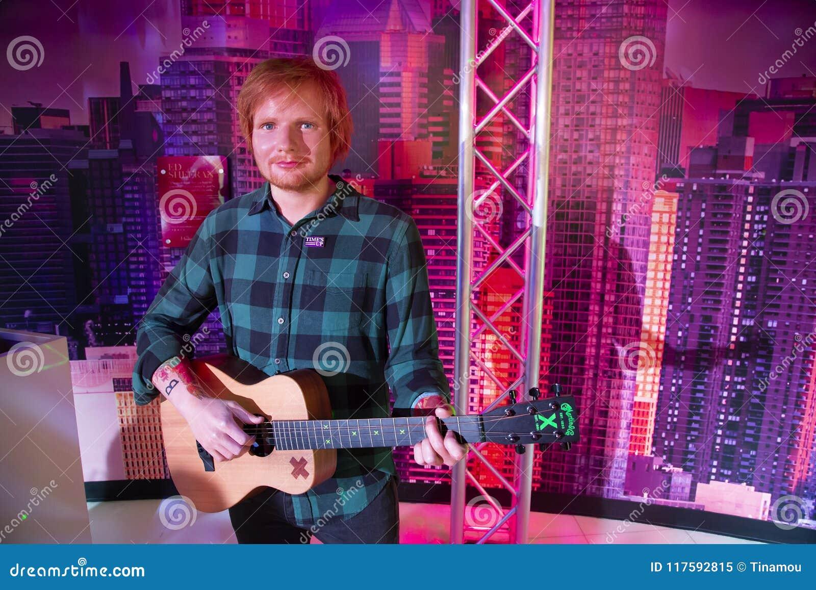 Ed Sheeran dans Madame Tussauds de New York