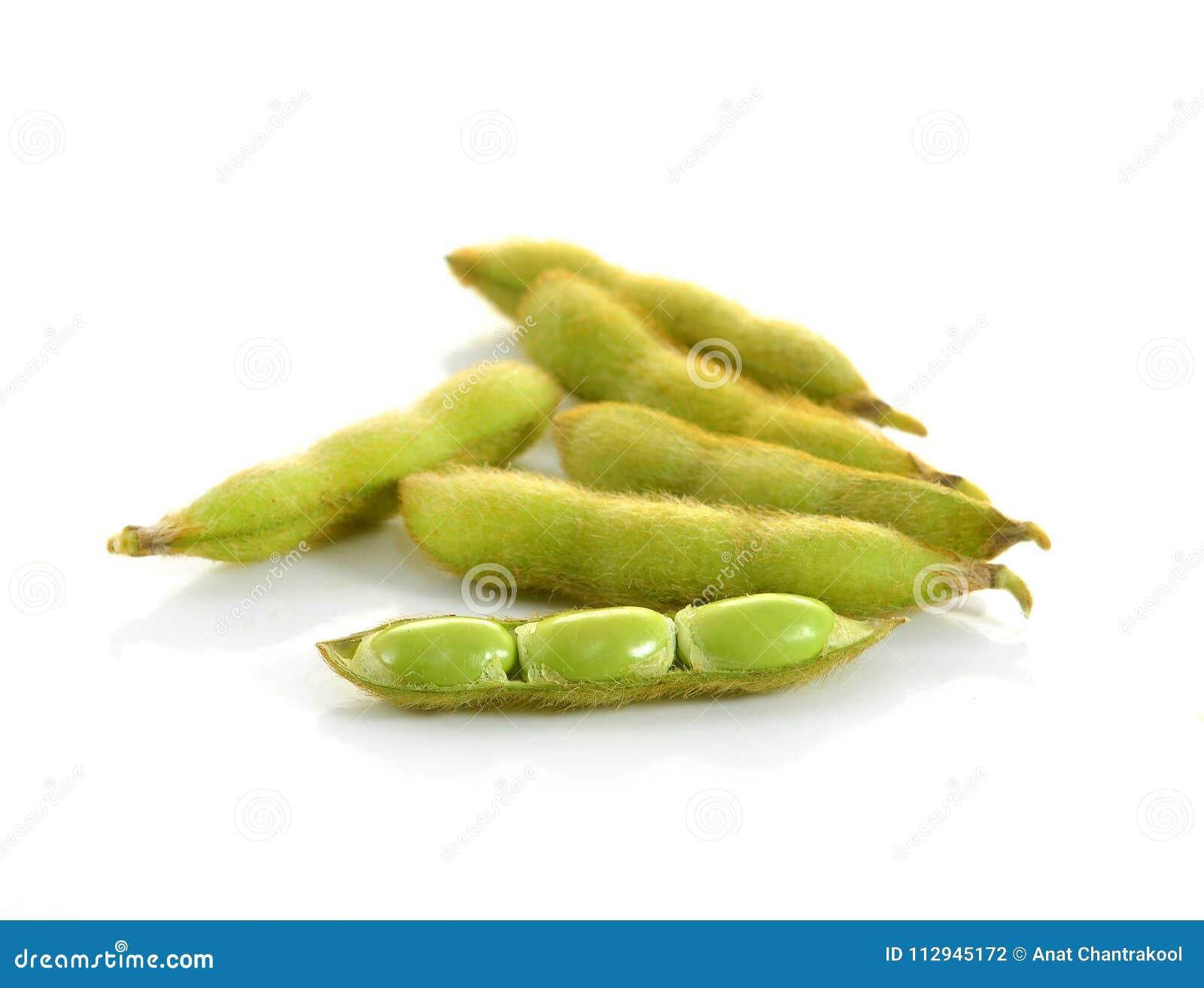 Edamame Nagen, gekochte grüne Sojabohnenölbohnen, japanische Nahrung