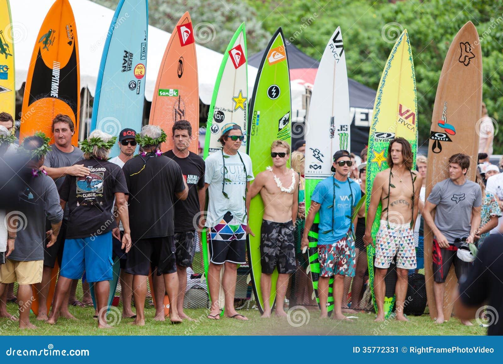 Eddie Aikau Traditional Hawaiian Opening Ceremony Editorial