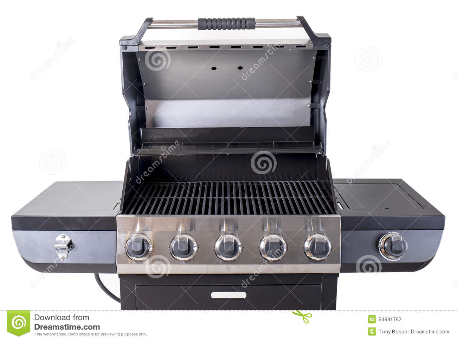 Edelstahl BBQ-Grill