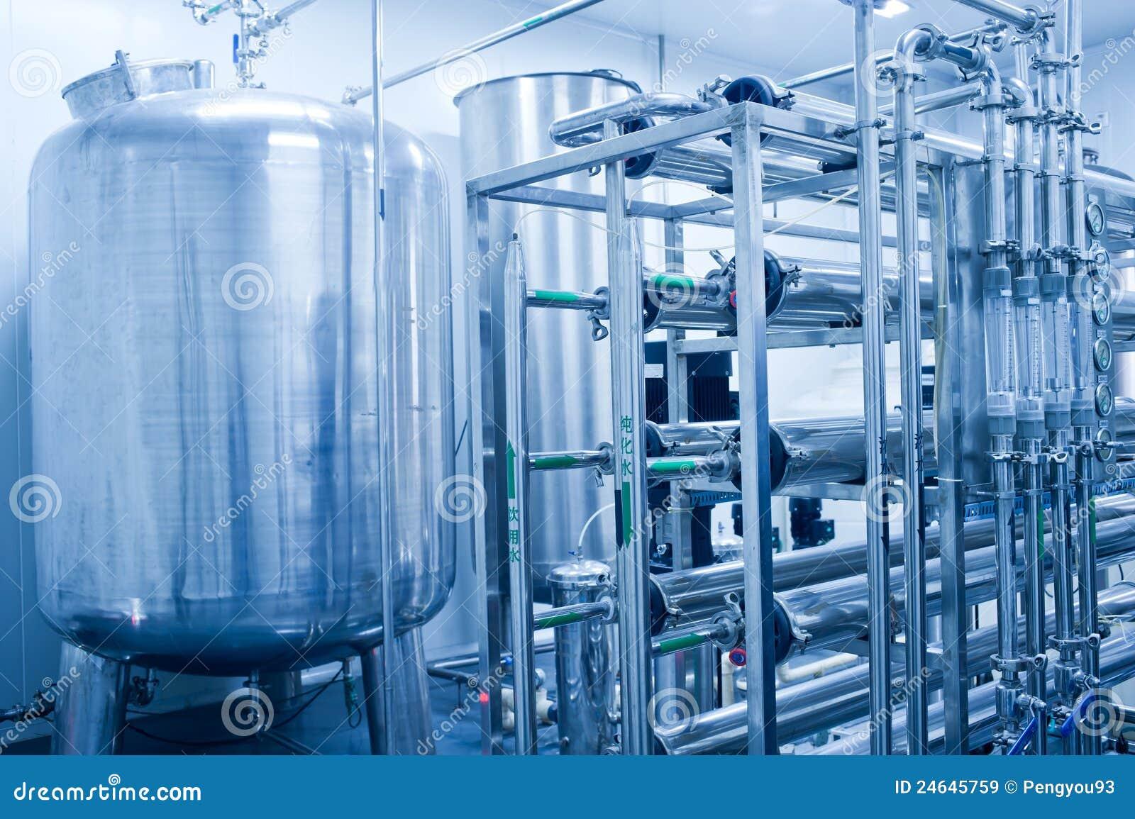 Edelstahlwasser-Vorratsbehälter