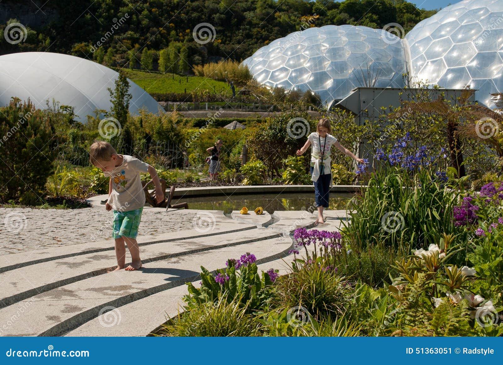 Eden Project Biomes met kinderen