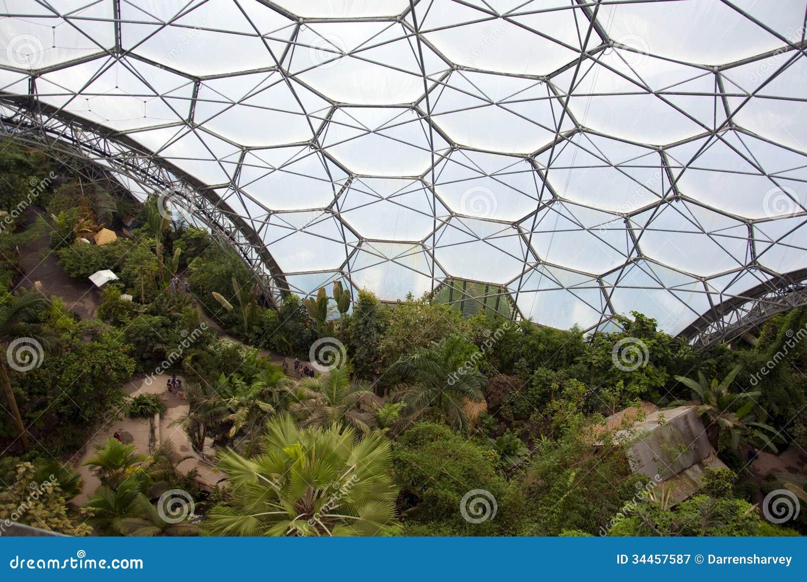 Eden projekt wśrodku biome