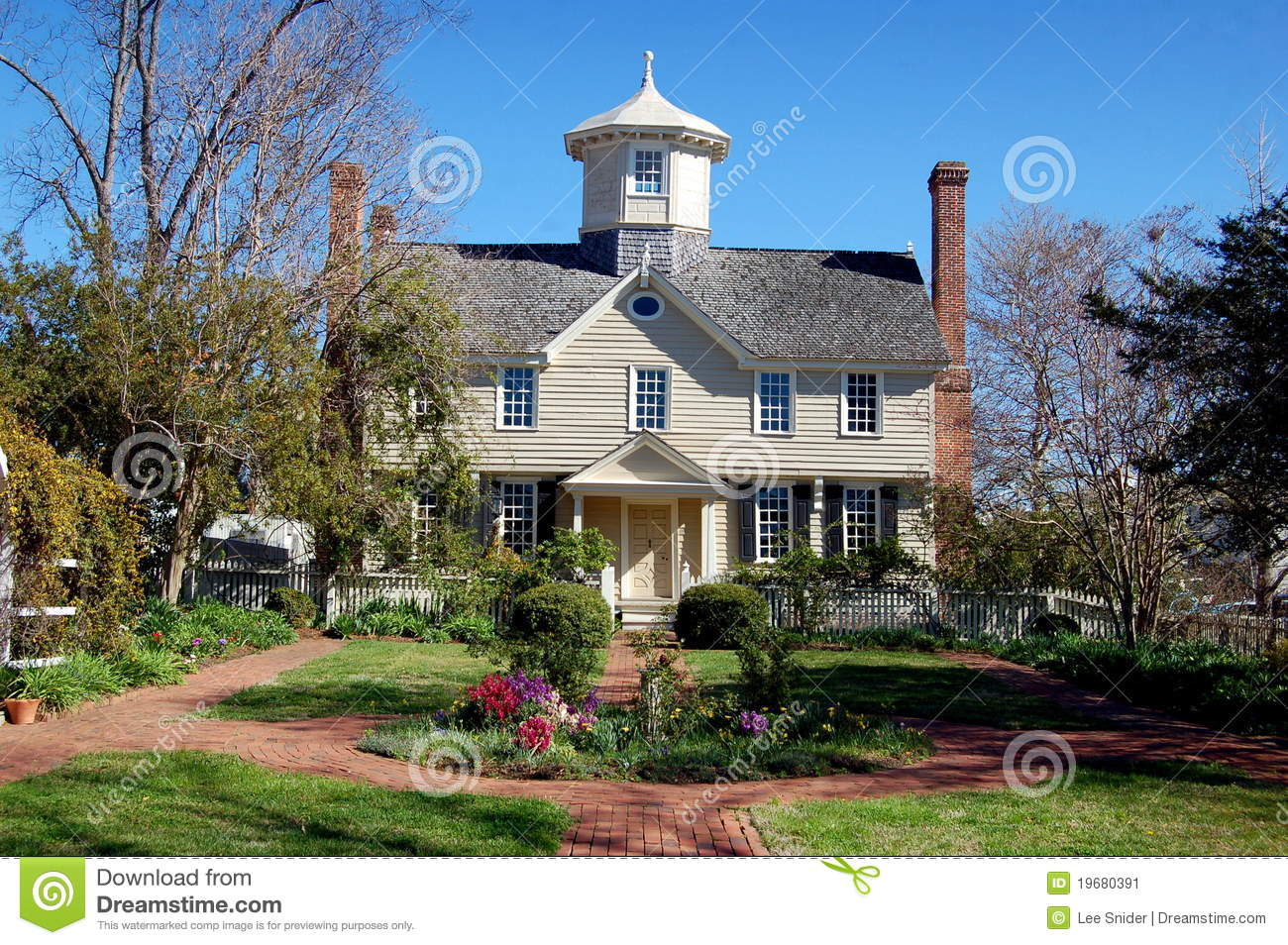 Edenton Nc 1725 Cupola House Stock Image Image Of