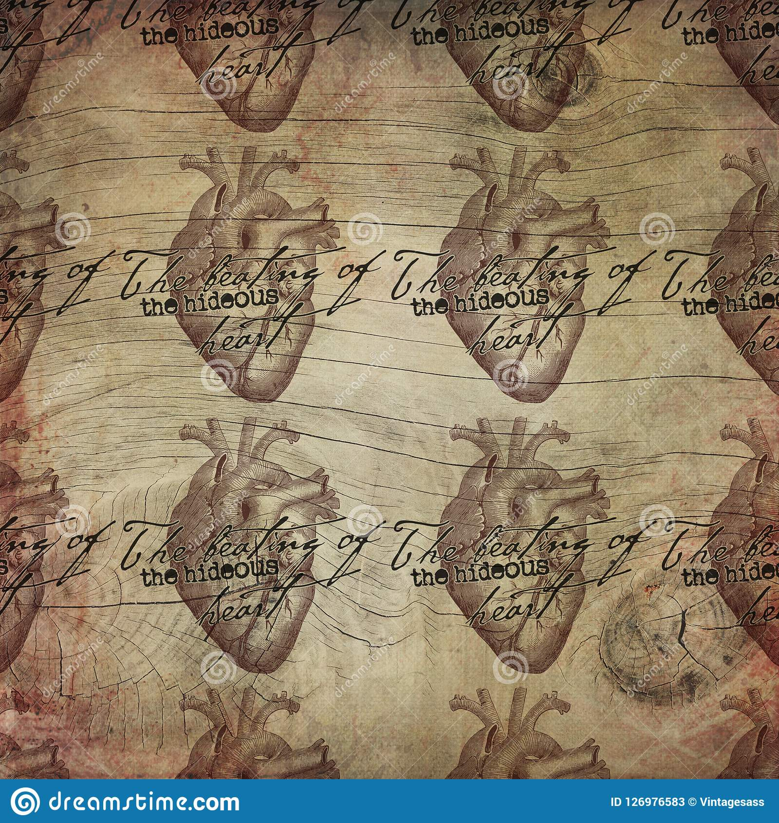 Edgar Allan Poe - skarżypyty serce - Makabryczny Halloween - got - Ciemny humor