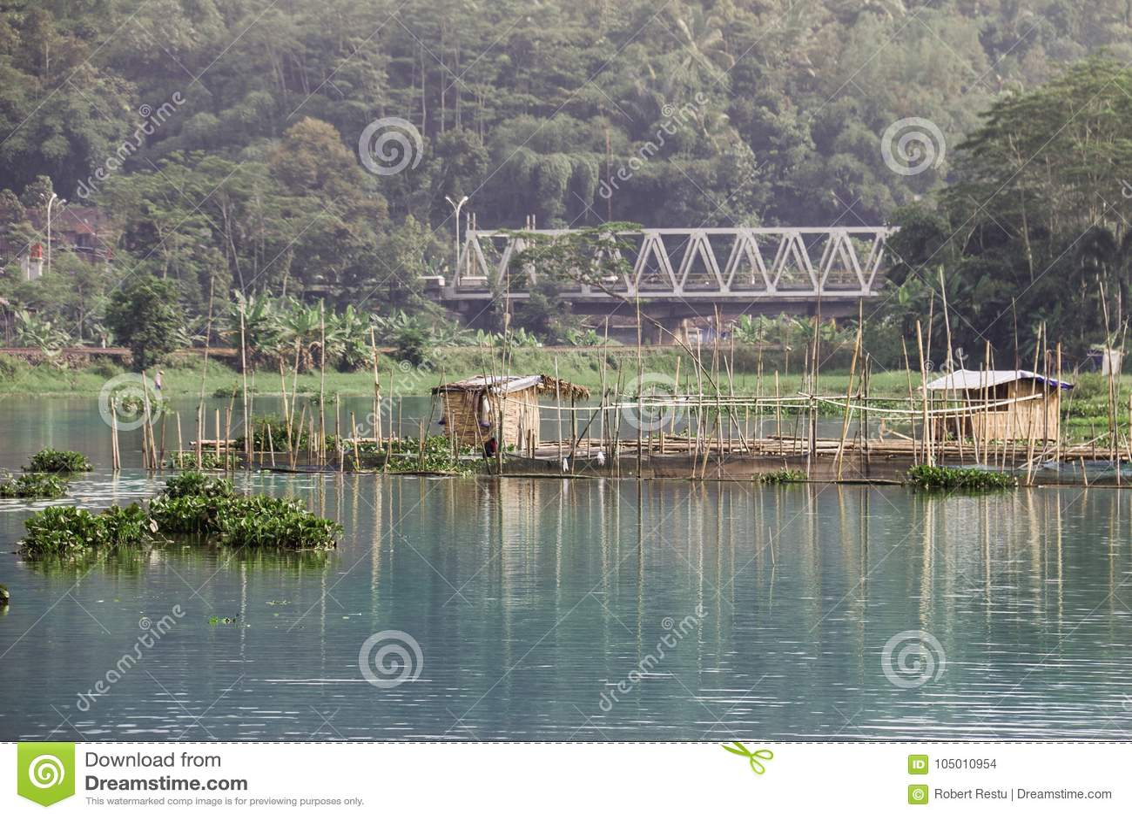 The Edge di Rawa che rinchiude Ambarawa Indonesia