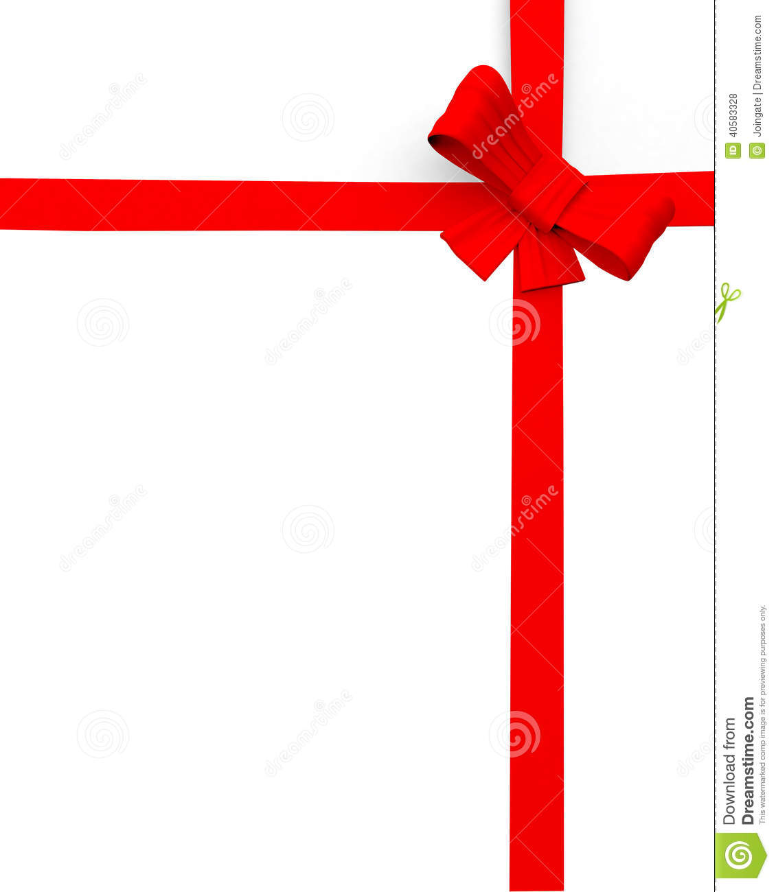 Edge Of Page Or Website Present Ribbon Graphic Design Stock with clipart edge design intended for your inspiration