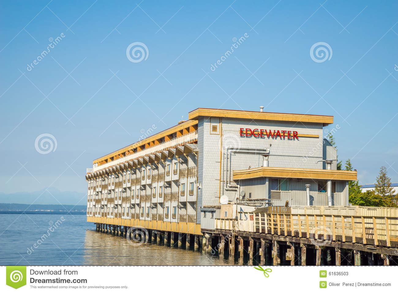 The edgewater hotel is famous for hosting and lodging the for The edge water