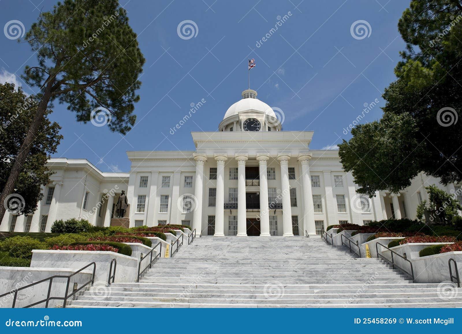 Edifício de capital em Alabama.