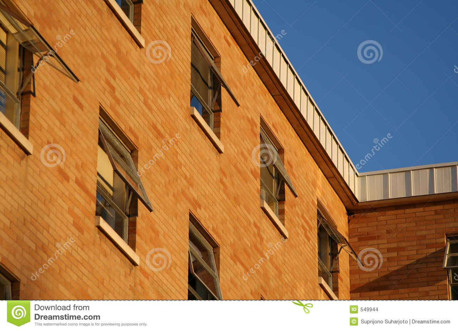 Edifício de tijolo