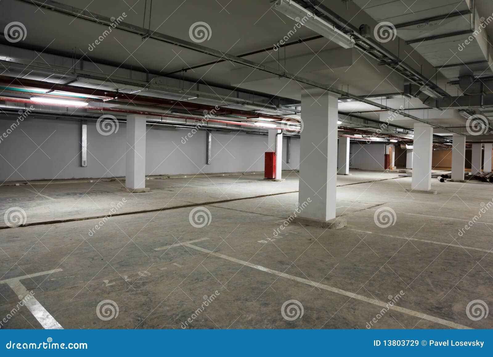 Edifício do lugar de estacionamento.