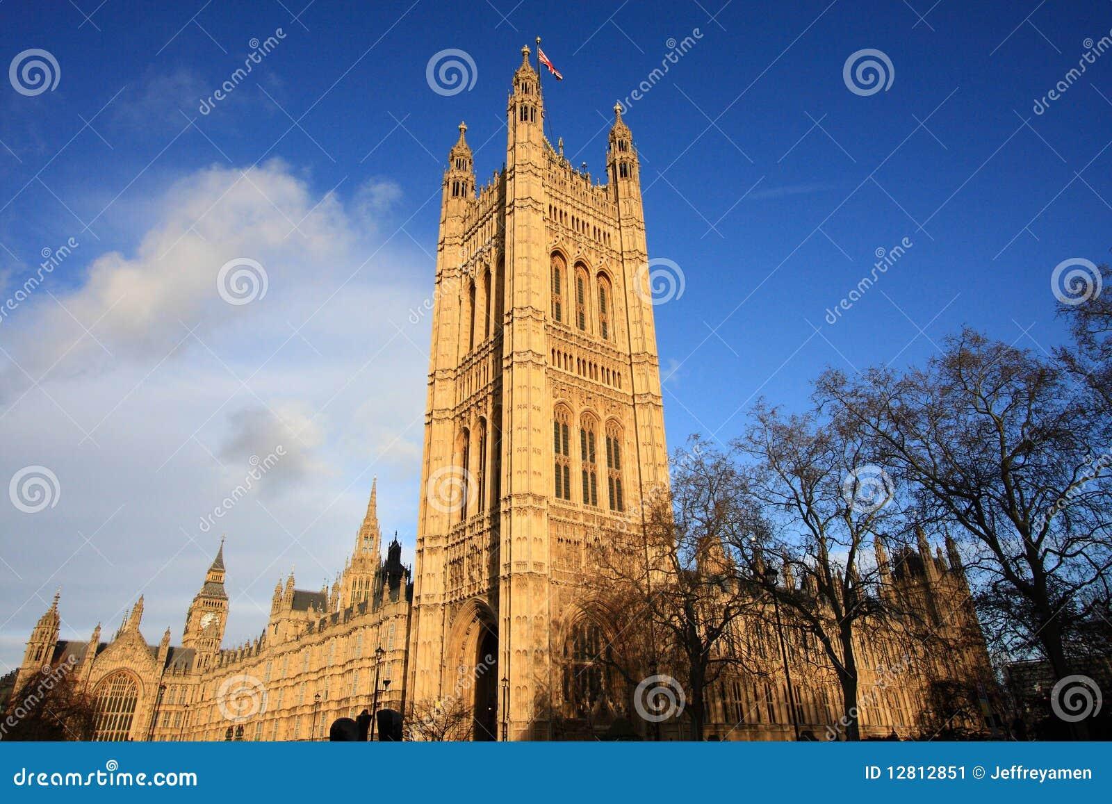 Edifício do parlamento do Reino Unido