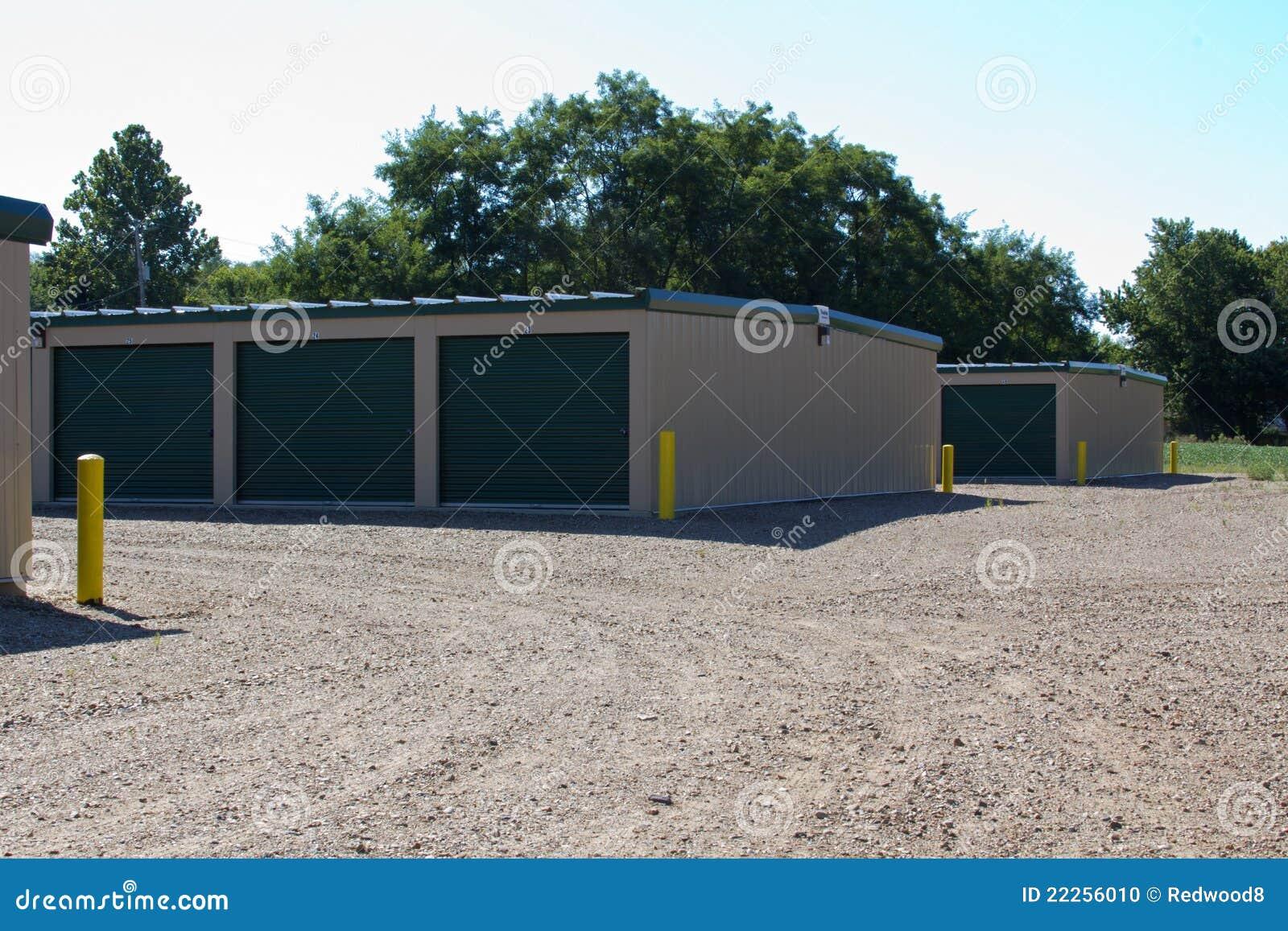 Edifícios de armazenamento do auto