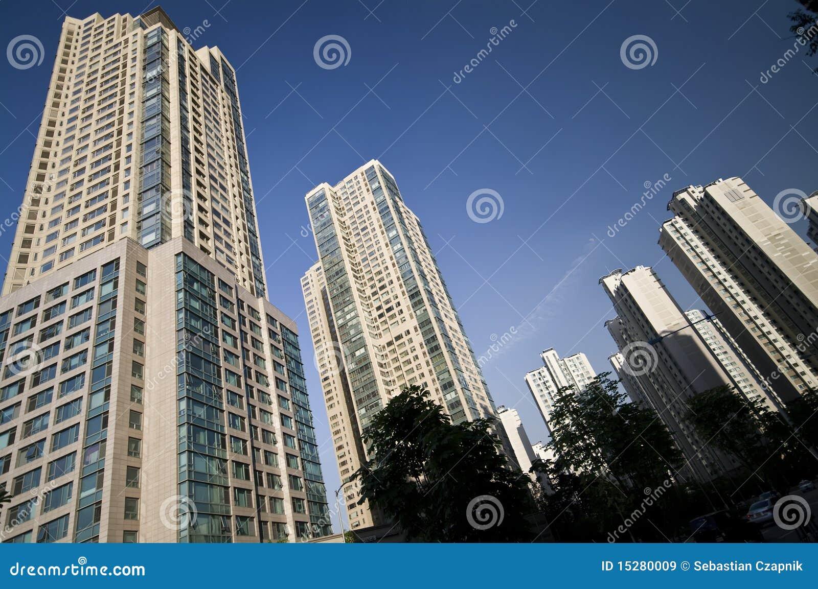 Edifícios do arranha-céus