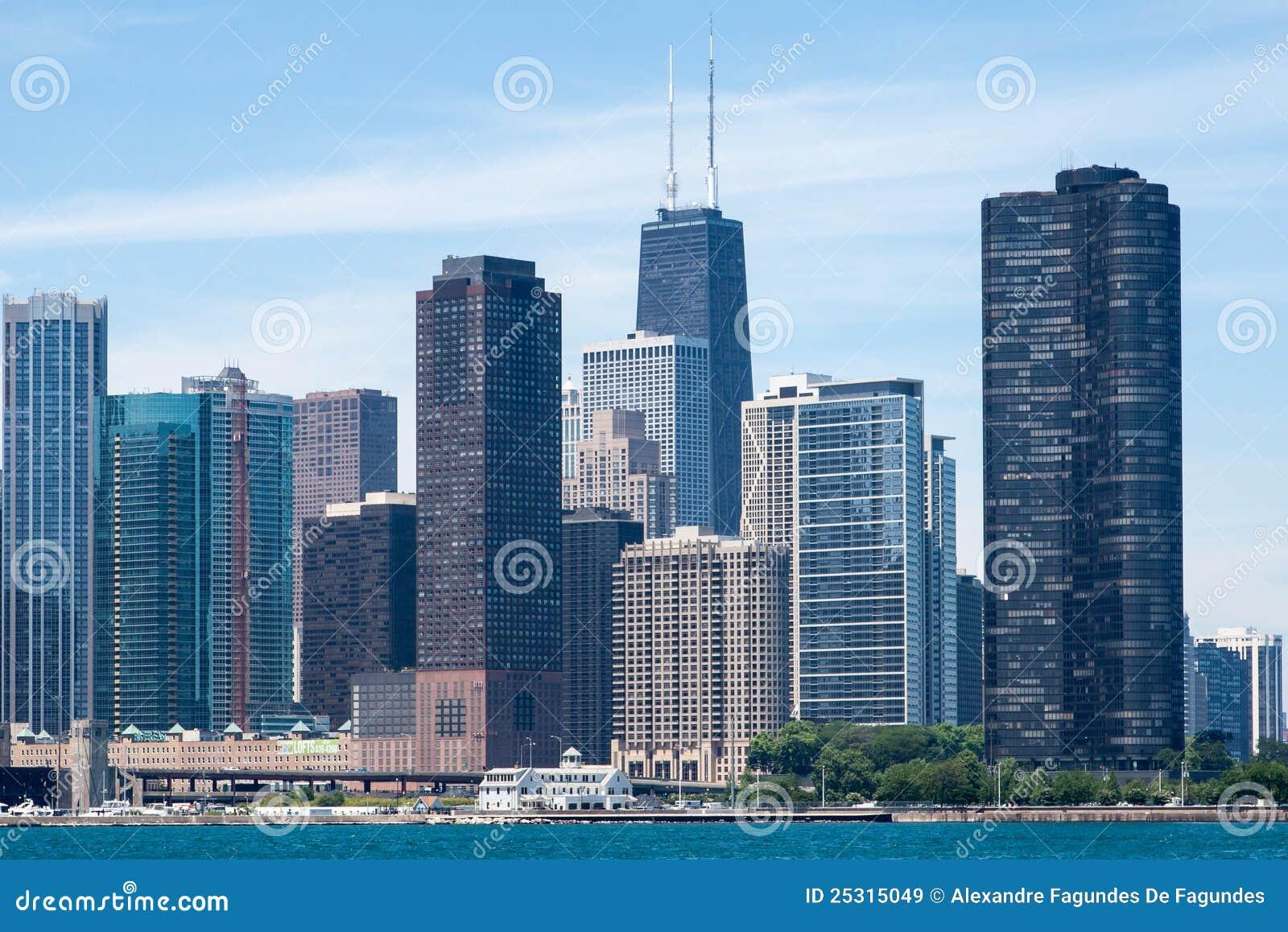 Edif cios modernos de chicago imagem de stock editorial - Fotos de recibidores modernos ...