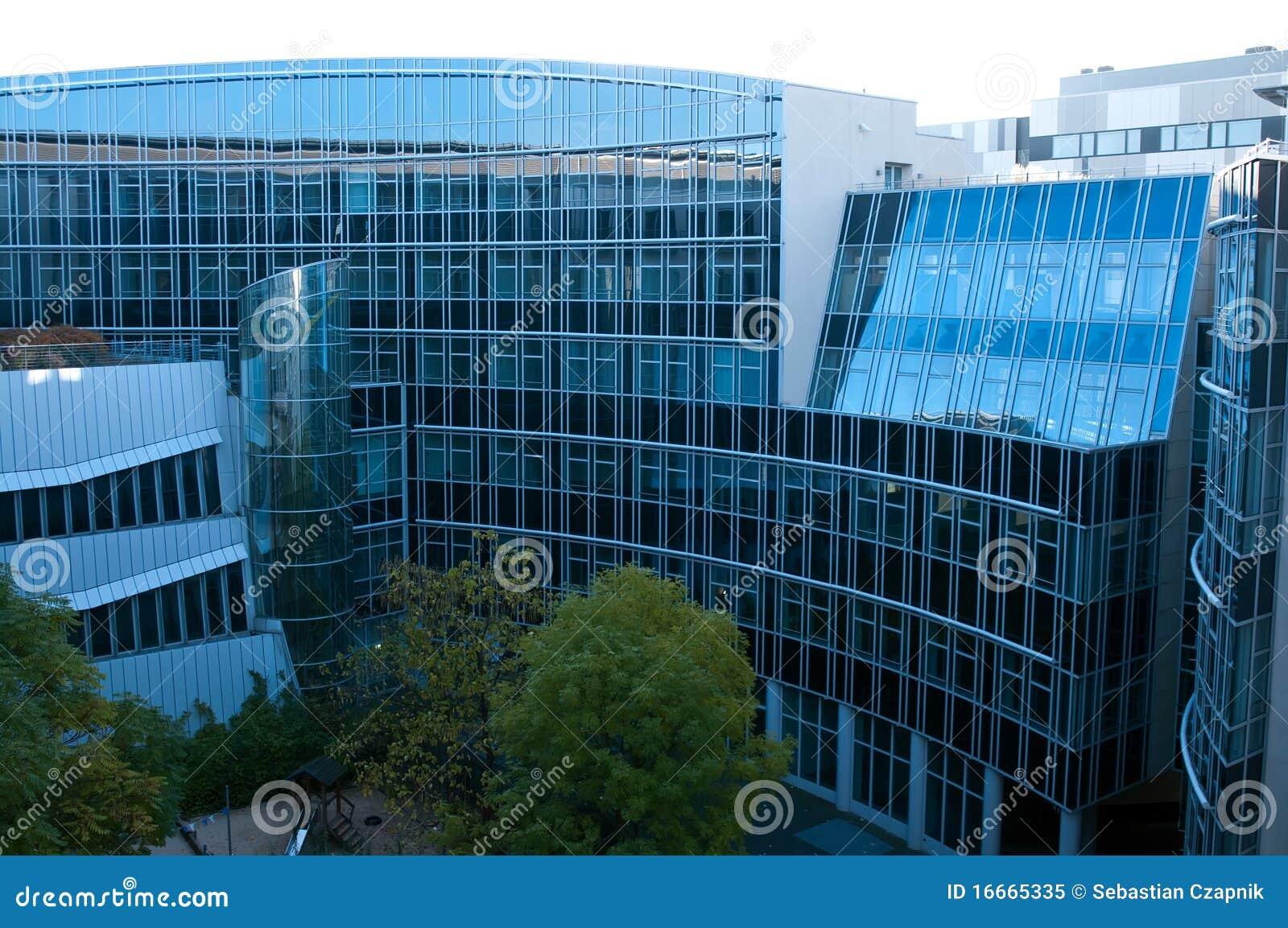 Edifícios modernos em Berlim