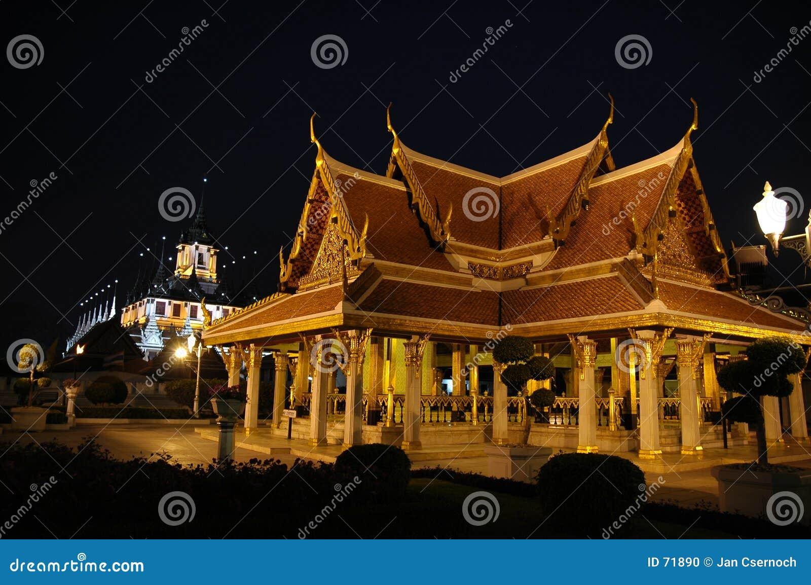 Edifícios reais em Banguecoque Tailândia