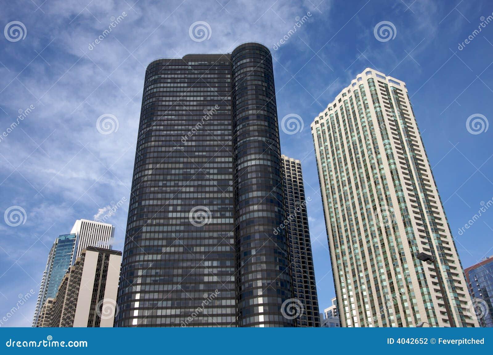 Edifici moderni del Chicago