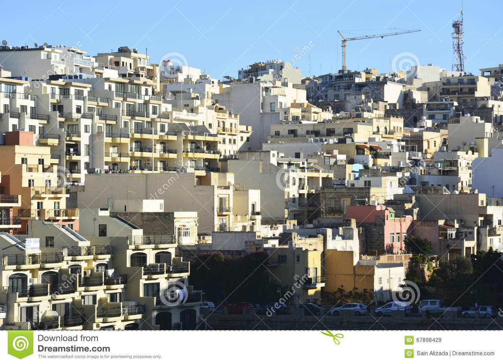 Edifici residenziali in Mellieha, Malta