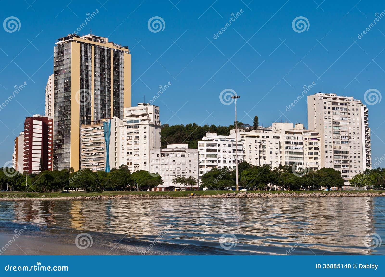 Download Edifici Residenziali In Rio De Janeiro Fotografia Stock - Immagine di appartamento, bianco: 36885140