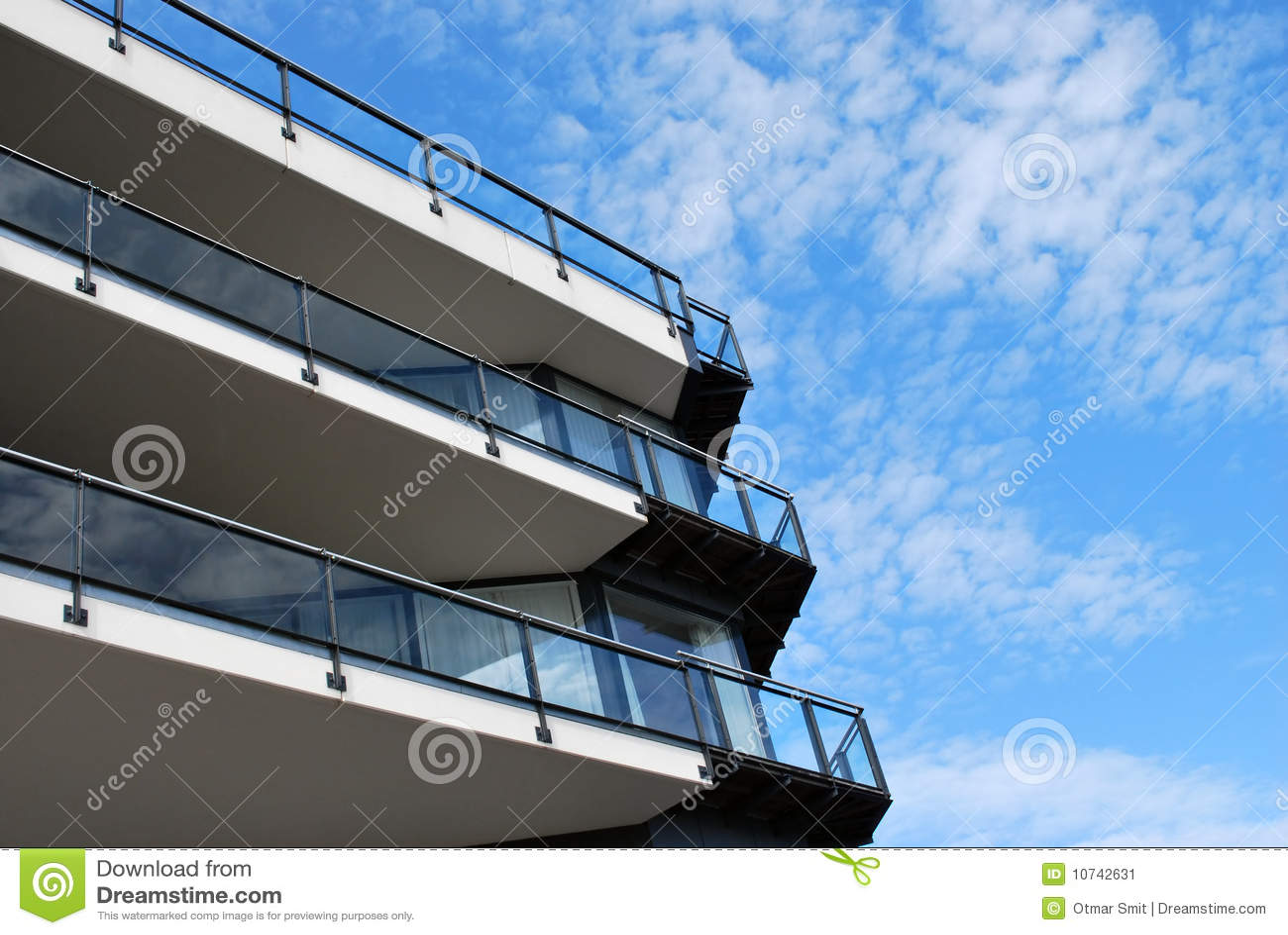 Edificio Balconied